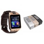 Zemini DZ09 Smartwatch and Hopestar H 11 Bluetooth Speaker for LG OPTIMUS G PRO(DZ09 Smart Watch With 4G Sim Card Memory Card| Hopestar H 11 Bluetooth Speaker)