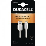 Duracell Micro USB Sync & Charge Cable 1M (USB5013W)