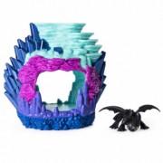 Barlogul lui Toothless Lumea ascunsa a Dragonilor - Dragons Cum sa iti dresezi Dragonul III