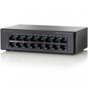 Суич Cisco SF110D-16HP-EU 3200Mbps 16-Port 10/100 PoE Unmanaged Desktop Switch