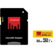 Strontium Nitro 32 GB MicroSD Card Class 10 70 MB/s Memory Card