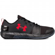 Under Armour Men's Commit Training Shoes - Black/Red - US 11.5/UK 10.5 - Black/Red