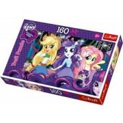 Pony My Little pony, Equstria girls, pussel, 160 bitar