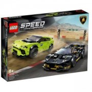 Конструктор Лего Спийд Шампиони - Lamborghini Urus ST-X & Lamborghini Huracаn Super Trofeo EVO - LEGO Speed Champions, 76899