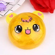 Fancyku Fluffy Slime Crystal Animals- Super Soft, Fluffy Floam Slime Sludge Toys School Gifts, Stress Relief Toys (Yellow)