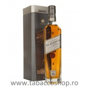 Whisky Johhnie Walker Platinum Label 18ani 1.0L in cutie metalica