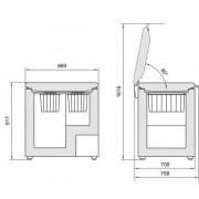 GARANTIE 4 ANI Lada frigorifica Liebherr, Comfort, clasa A++, StopFrost, FrostProtect, control electronic, alb GT 2632
