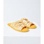 Etam Chaussons sandales nouées - BELLA - 40/41 - Jaune - Femme - Etam