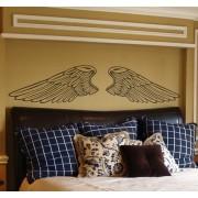 TenStickers Symetrische Engel Vleugels Muursticker