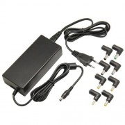 90W Universal AC Power Adapter Charger for Laptop Notebook with Eight Connectors(Black)