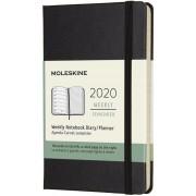 Moleskine Weekly Notebook Agenda-Taccuino settimanale 2020, 12 mesi, Molesk...