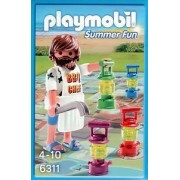 Playmobil - Fun Summer - Mini Board Game for 2-4 Players & Figure - BBQ Chef - 6311