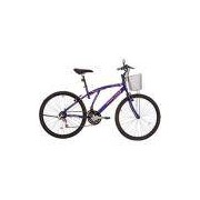 Bicicleta Houston Bristol Lance Aro 26 21 Marchas Violeta