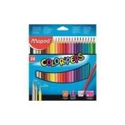 Lápis De Cor Color'peps Classic 24 Cores Maped