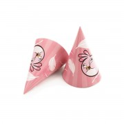 Coifuri party Angry Birds Pink