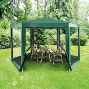 1.8M Hexagon Gazebo by Coopers of Stortford