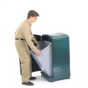 Műanyag Hulladékgyűjtő zöld - Landmark 4122-2