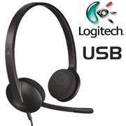 Logitech H340 USB Headset - Adjustable Headband,
