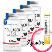 WSHAPE Collagen 100 kapszula (4db) + C-vitamin pezsgőtabletta (1db)