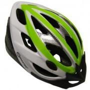 Каска за велосипед Force, L, MASTER, MAS-B202-L-green-w