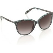 Joe Black Oval Sunglasses(Grey)