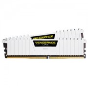 Memorie Corsair Vengeance LPX White 16GB (2x8GB) DDR4, 3200MHz, 1.35V, CL16, Dual Channel Kit, CMK16GX4M2B3200C16W