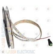 Striscia Bianco Naturale 4500K LED SMD5630 da Interno 10MT Metri Altissima Luminosità 100W