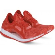 Adidas PUREBOOST X Running Shoes For Women(Red, White)