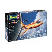 Modelul de planetă din plastic Model 03888 - Avionul supersonic Bell X-1 (1:32)