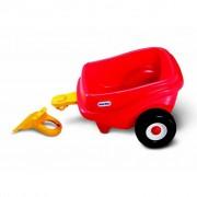 Little Tikes Červený Vozík k Pohodlnému Coupé
