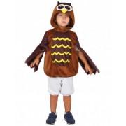 Disfraz de buho niño M 7-9 años (120-130 cm)
