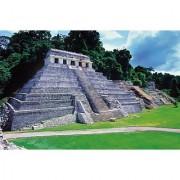 Los mayas: Templo de las inscripciones - Clementoni 1000 Piece Puzzle - High Quality Collection