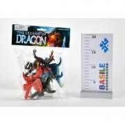Distributori giocattoli busta con 4 statuine di dragoni 1570/93956