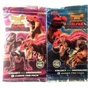 Dinosaur King Trading Card Game Booster Pack 2 Pack (18 Cards)