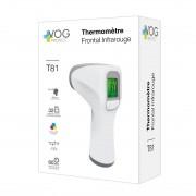 MASQUES DIRECT Thermomètre frontal infrarouge avec affichage à led