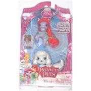 Figurine Disney 3.8 Cm - Catelusul Cenusaresei Si Poneiul Lui Ariel