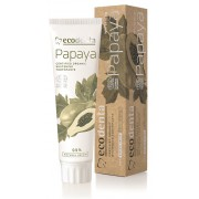 Ecodenta BIO pasta de dinți pentru albire cu extract de papaya(Certified Organic Whitening Toothpaste) 100 ml