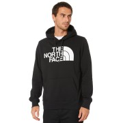 The North Face Half Dome Mens Pullover Hoodie Tnf Black