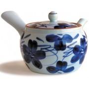 Tetera Saikai Flor Azul