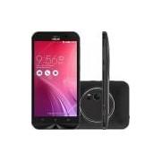 Smartphone Asus Zenfone Zoom Single Chip Android 5.0 Tela 5.5 Quad Core 64GB 4G Câmera 13MP - Preto