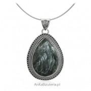 ankabizuteria.pl Biżuteria srebrna z kamieniami naturalnymi - zawieszka srebrna z