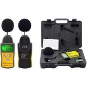 HOLDPEAK 882A Digitális zajszintmérő 30-130dBA 35-130dBC számjegyes és bargraph megjelenítés.