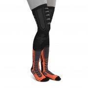 Acerbis Strumpor Acerbis X-Leg Pro Svart-Orange