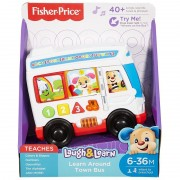Autobuzul cu lumini si sunete Laugh Learn Fisher Price