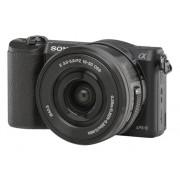 Sony Cámara Mirrorless SONY A5100+16-50MM (Negro - 24.3 MP - Sensor: APS-C - ISO: 100 a 25600)