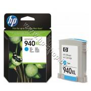 Мастило HP 940XL, Cyan, p/n C4907AE - Оригинален HP консуматив - касета с мастило
