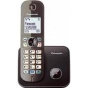 Telefon Dect Panasonic KX-TG6811FXM Negru metalic