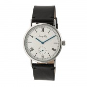 Simplify The 5100 Leather-Band Watch - Silver/Silver/Black SIM5101