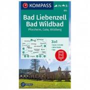 Kompass - Bad Liebenzell, Bad Wildbad - Wandelkaarten 1. Auflage - Neuausgabe