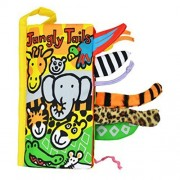 Autumn Fall Animal Tails Cloth Book Baby Toy Cloth Development Books